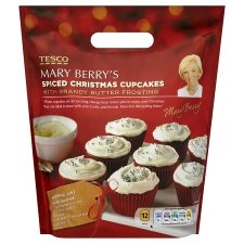 tasty tuesday | mary berry | christmas cupcakes