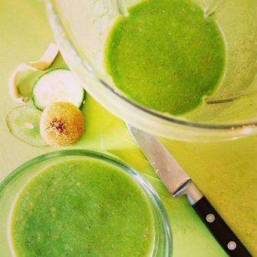 all the greens simple green smoothie